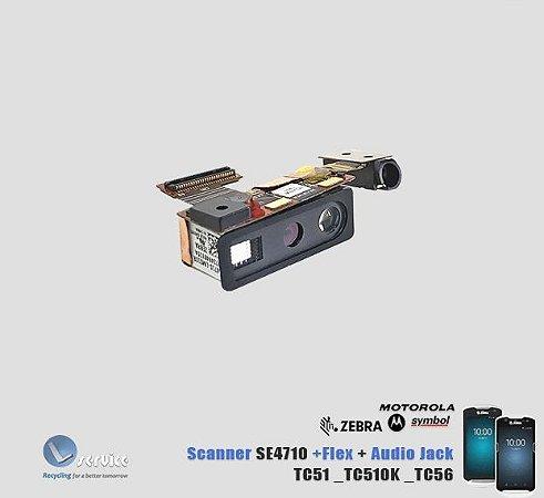 Scanner SE4710 Flex audio Jack TC51 TC510K TC56