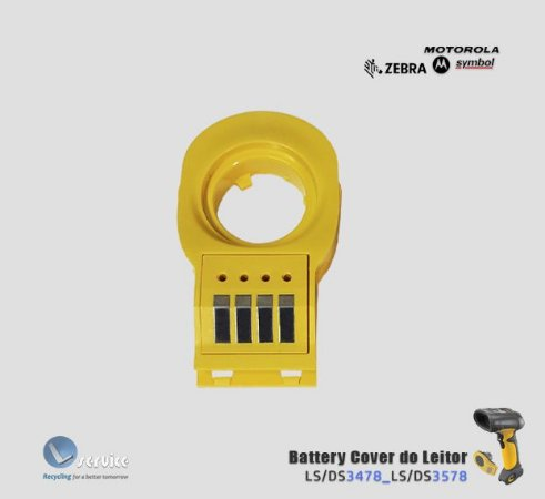 Cover battery Leitor Zebra LS3408/LS3478/LS3578