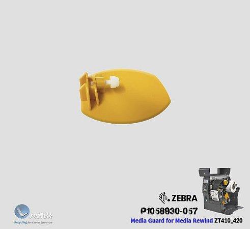 Trava do rolo de etiquetas rebobinador Zebra ZT400 series