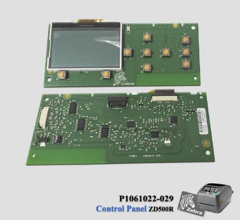 Painel de controle completo Zebra ZD500R
