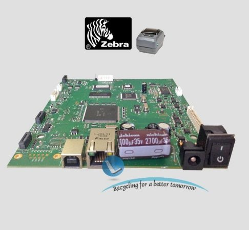 Placa Lógica Zebra GK420 (USB/Ethernet) 105934-073