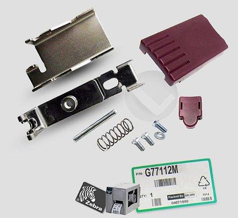 Kit Trava Mecanismo de Impressão Zebra Z4M/ S4M/ Z6M