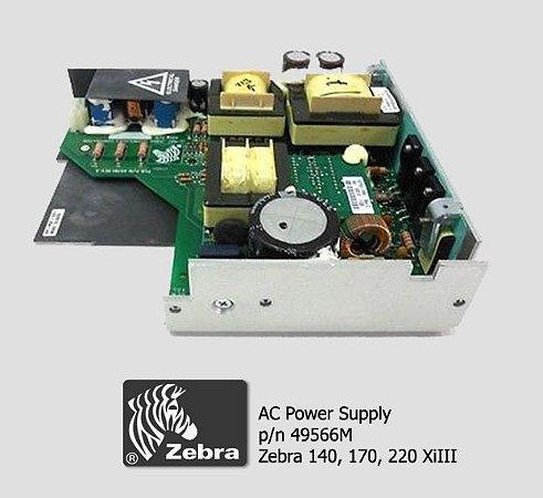 Placa Fonte AC Zebra Xi3 series/ Xi3 plus|49566M