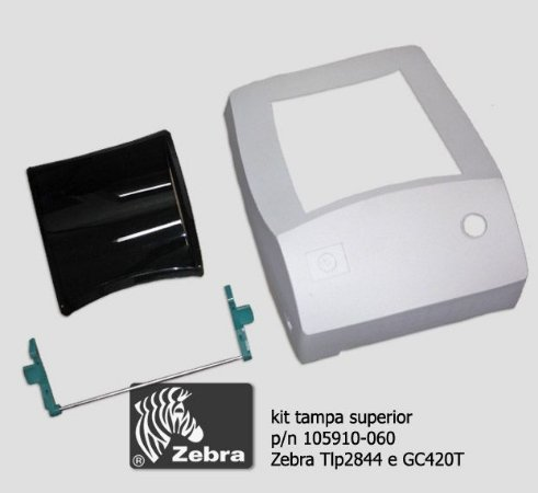 Tampa superior (KIT) zebra Tlp2844/ GC420 - G105910-060