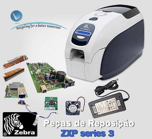 Zebra Card ZXP3 Series - Assistência técnica|Peças|Impressoras