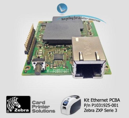 Placa de Rede Ethernet Zebra ZXP3 |P1031925-001