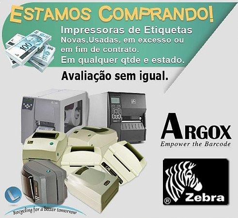 Impressora Zebra, Argox, Datamax |Compramos|