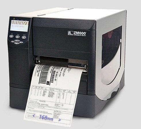 Impressora Zebra ZM600 | L 168mm (↔)
