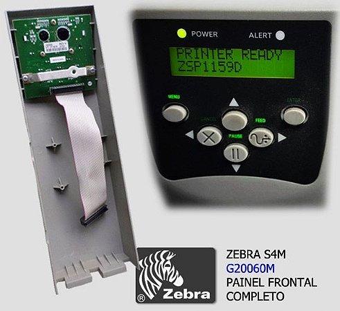 Painel frontal Zebra S4M | G20060M