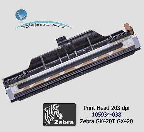 Cabeça de Impressão Zebra GK420T/GX420T/ZD500R