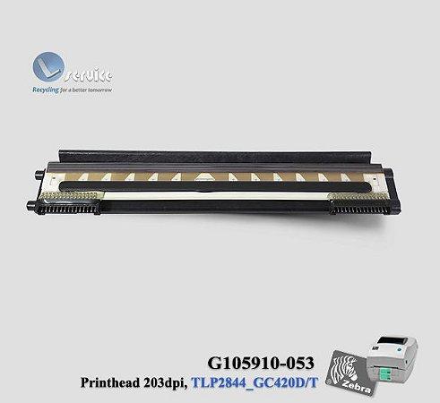 Cabeça de Impressão Zebra TLP2844/GC420D/T