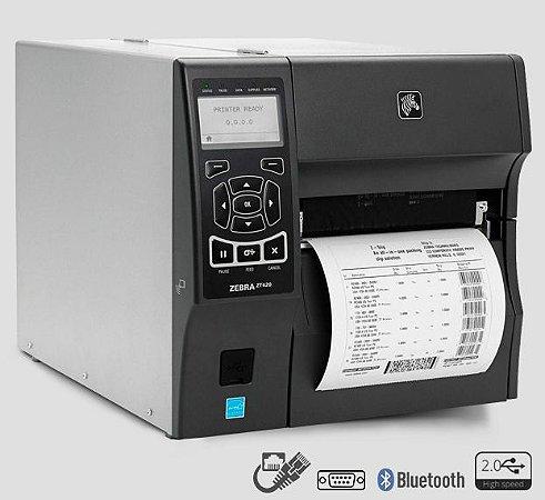 Impressora Industrial Zebra ZT420 TT