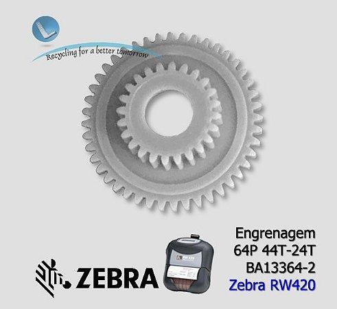 Engrenagem Zebra RW420 (64p 44T-24T) | BA13364-2