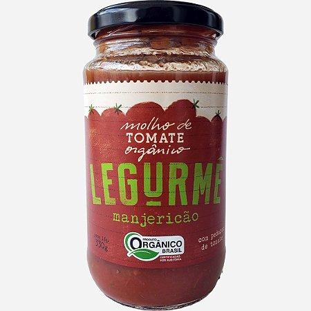 Molho orgânico de Tomate com Manjericão - 330g