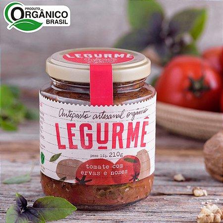 Antepasto orgânico de Tomate com Ervas e Nozes