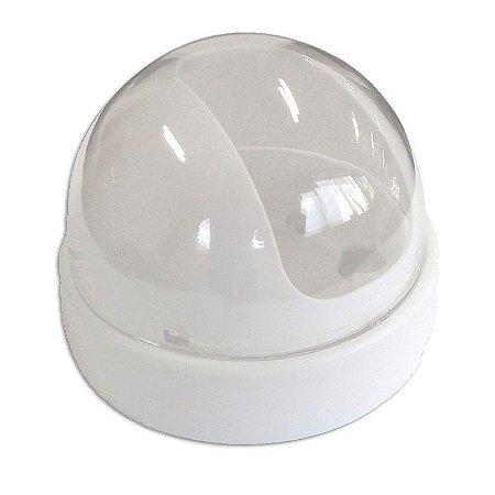 Dome protetor CFTV 3 polegadas para micro câmeras Branco