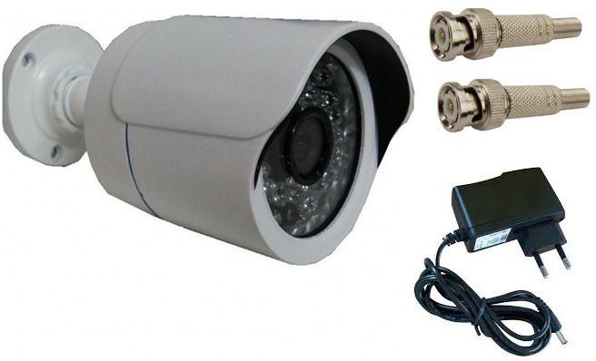 Camera de segurança residencial  infravermelho com Ircut fonte e bnc