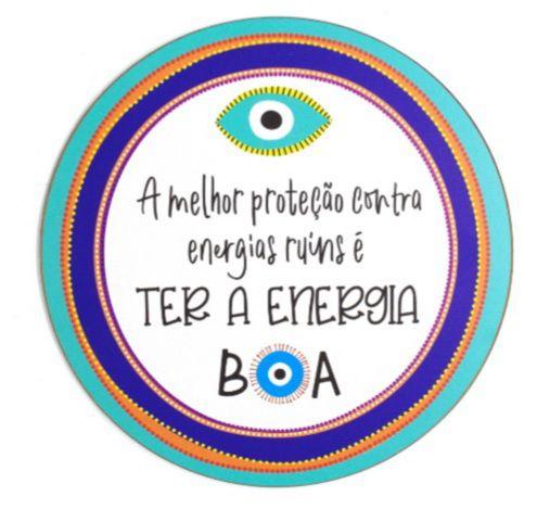 Quadro olho energia