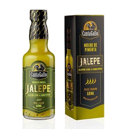 Molho de Pimenta Jalepe Cantagallo (Jalapeño & Lemon Pepper) 60ML