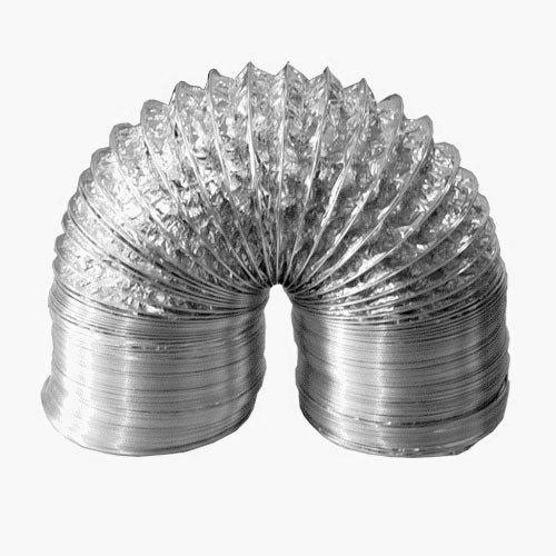 Duto flexível de alumínio 125mm - 3 metros