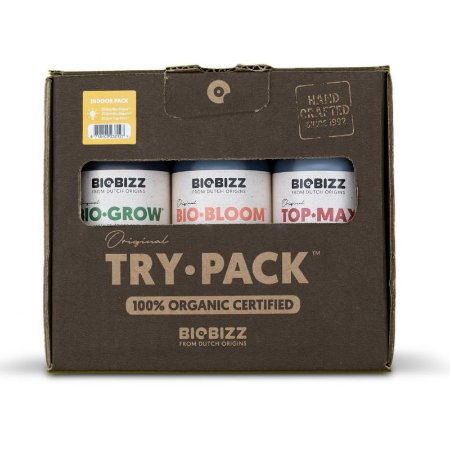 Try Pack Indoor com Top Max - Biobizz