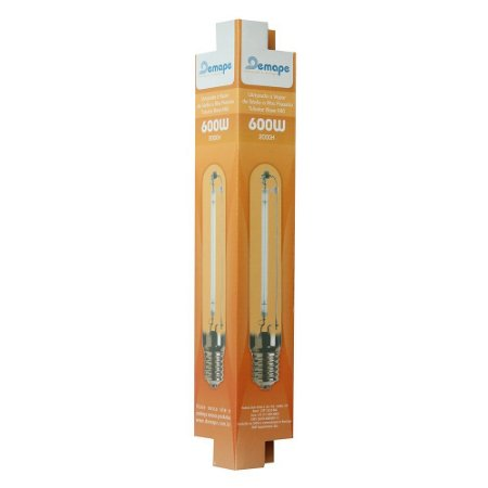 Lâmpada Vapor de Sódio HPS 600w 75.000 Lumens - Demape