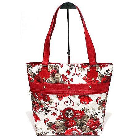 Bolsa de Lona Floral Atacado 44-57