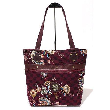 Bolsa de Lona Floral Atacado 44-30