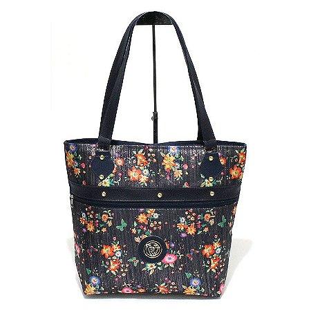 Bolsa de Lona Floral Atacado 44-96