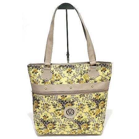 Bolsa de Lona Floral Atacado 44-56