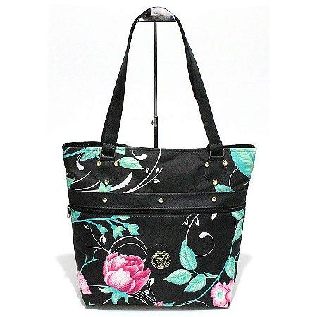 Bolsa de Lona Floral Atacado 44-62