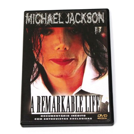 DVD Original Usado Michael Jackson - A Remarkable Life