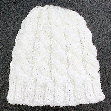 Gorro de Lã Branco