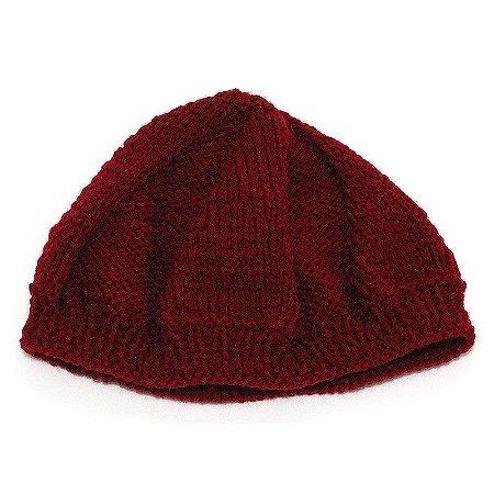 Boina de Lã Vermelha
