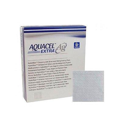 Curativo Aquacel AG EXTRA com Prata, Estéril, Convatec, envelope com 01 unidade