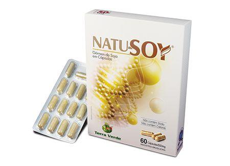 NATU-SOY (60 CAPS) - TERRA VERDE