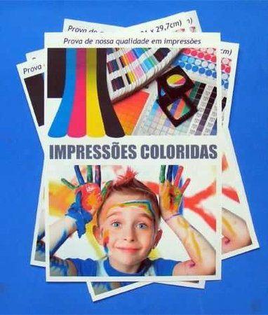 Impressão Colorida 75g A4