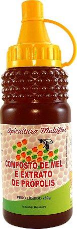 Composto de Mel com Extrato de Própolis 280 g
