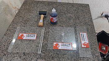 kit para coleta de impressao digital codigo 4453