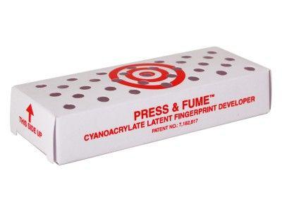 Revelador de impressão latente de cianoacrilato Press & Fume ™ SKU: CKPFCD