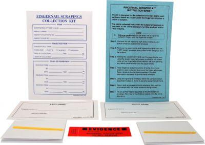 Kit de coleta de evidências de raspagem de unha SKU: FS-FINSC0GEN