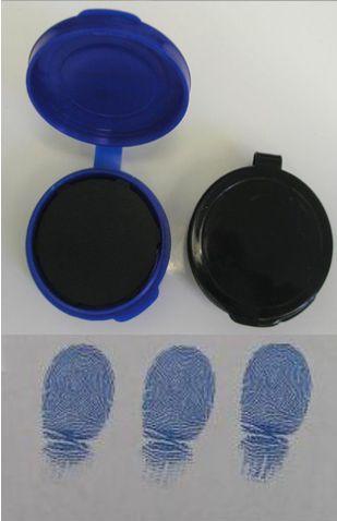 coletor de impressao digital na cor azul SKU: FS-BLU-1