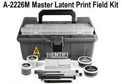 Kit de campo de impressão latente preta Identifi SKU: A-2226M
