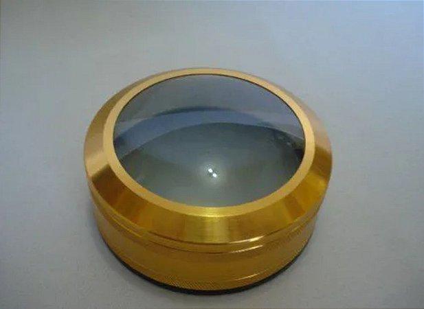 Lupa De Aumento papiloscopico  90mm Luxo Vintage Lente 9cm