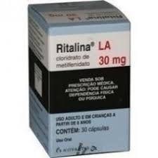 RITALINA LA 30MG 30 COMPRIMIDOS