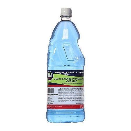 Desinfetante Mundclean Oceanic - 2 L