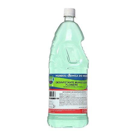 Desinfetante Mundclean Flowers - 2 L