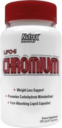 Nutrex Lipo 6 Chromium (100caps) - Nutrex