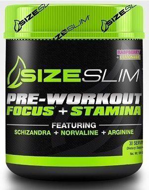 Pre-Workout Focus + Stamina(186g) - Pré-Treino Importado – Size Slim - EMPEDRADO