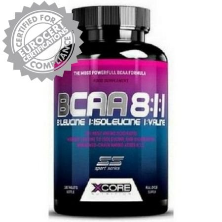 Xcore BCAA 8:1:1 Complex SS (180 tabs) - Xcore Nutrition